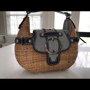 Rafe wicker handbag